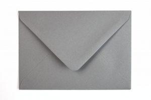 Gutschein Umschlag silber